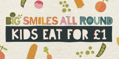 Kids Eat for £1 Only