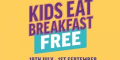 Kids Eat Breakfast for Free