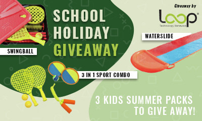 Win a Kids Water Slide, Swingball Set and More