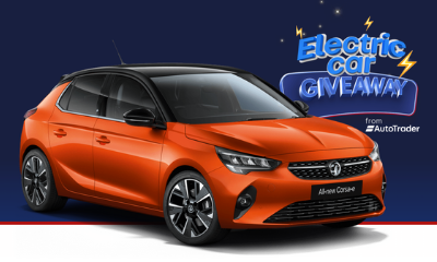 Win a Brand New Electric Vauxhall Corsa (Worth £33,000!)