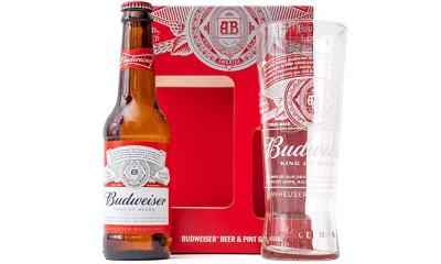Free Budweiser Pint Glass