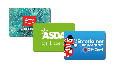 Free 50p and Free High Street Gift Cards