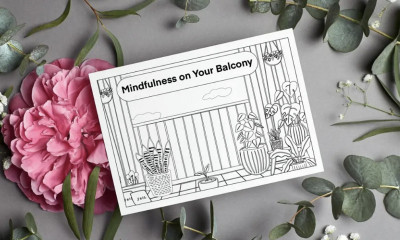Free Mindfulness Colouring Postcard - 10,000 Available