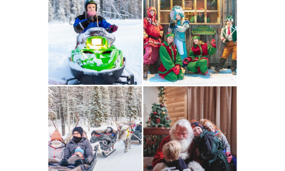 Win a Holiday to Santa's Lapland Home