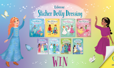 Win a Sticker Dolly Book Collection