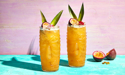 Free Bacardi Spiced Rum Cocktail