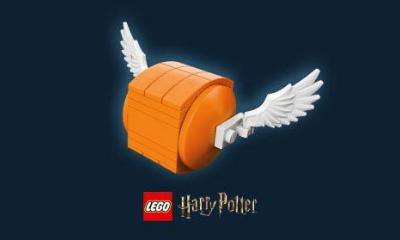 Free LEGO Golden Snitch