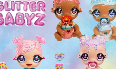 Win a Glitter Babyz Doll Collection