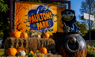 Win a Family Ticket to Paultons Park for Halloween