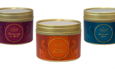 Free Autumnal Candle