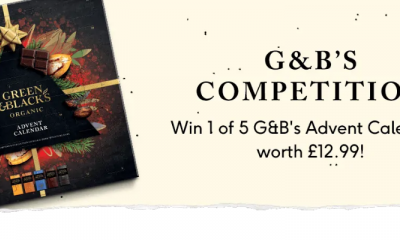 Win a Green & Black's Advent Calendar