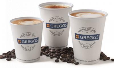 Free Greggs Hot Drink