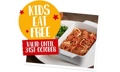 Kids Eat Free This Half Term