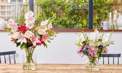 Free Vase + Free 5th Box of Flowers