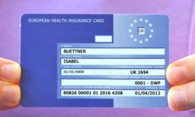 Free European Health Insurance Card