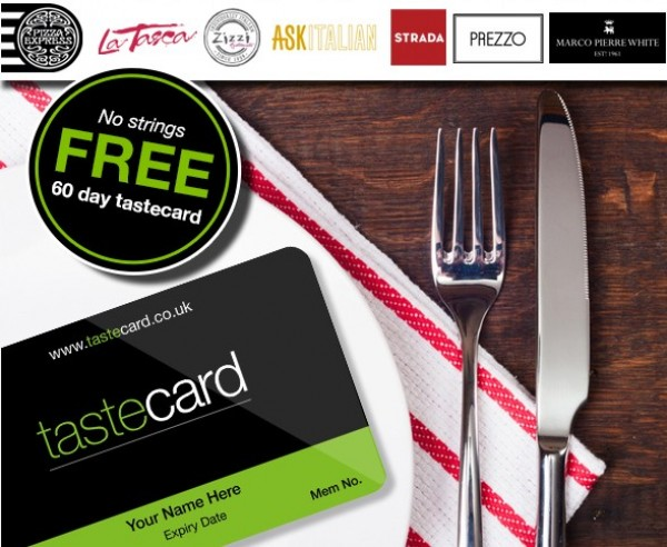 Free Discount Card 50 Off Pizza Express Zizzi And More