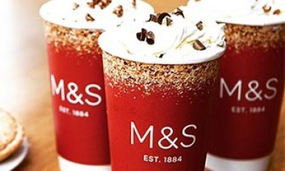 Free Hot Drink at M&S Cafe