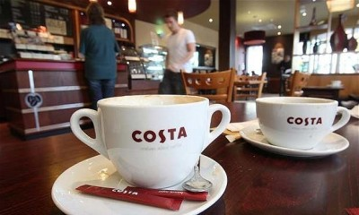 Free Costa Coffee at Gatwick