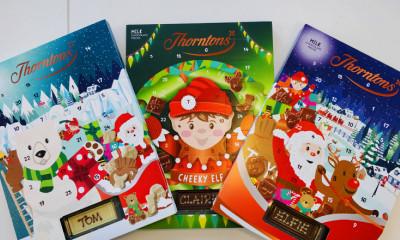 2 Free Thorntons Chocolate Advent Calendars