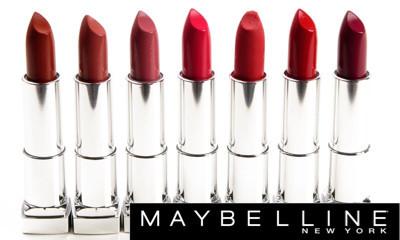 Free Maybelline Lipstick worth £6.99