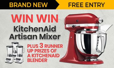 Win a KitchenAid Mixer (Worth £529!)