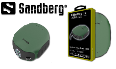 Win a Sandberg Powerbank