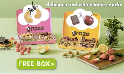 100% Free Graze Box - Snacks Worth £4.49